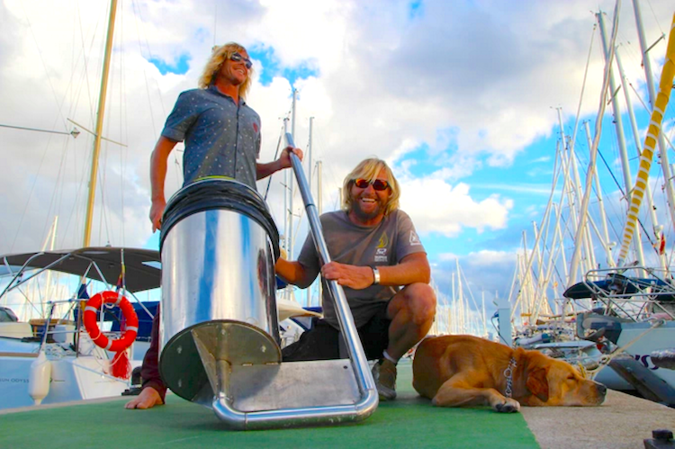 Plastic Pollution picker upper Kickstarter Seabin