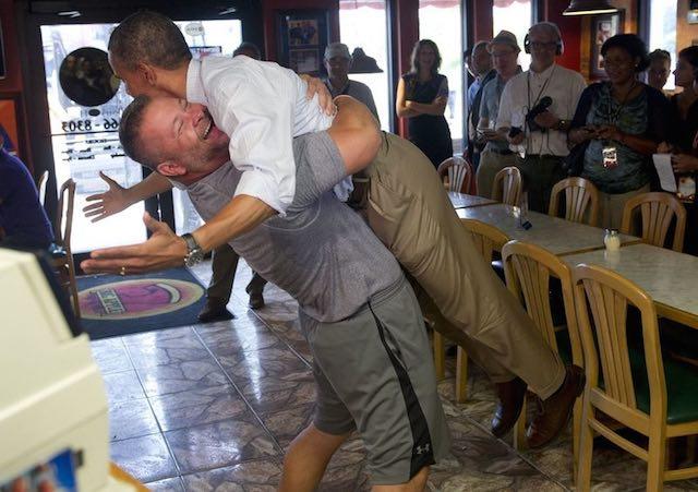 Scott Van Duzer-obama_hug