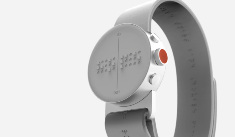 braille watch-released-Dot-Inc