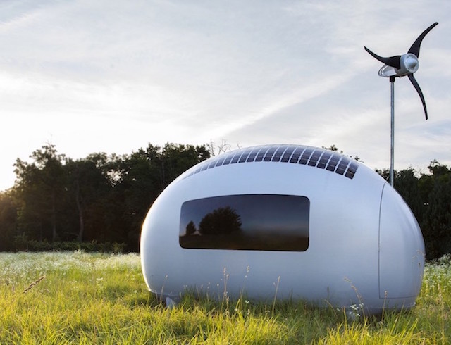 Solar Powered Pod Allows You To Live Anywhere Off The Grid