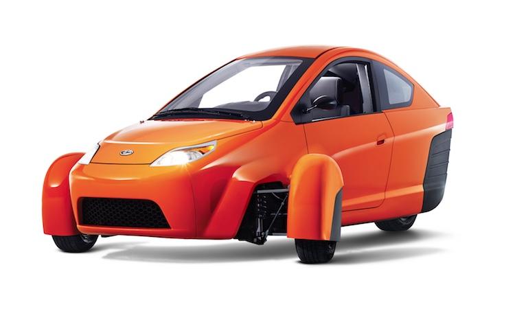 3 wheel 84mpg car released Elio Motors