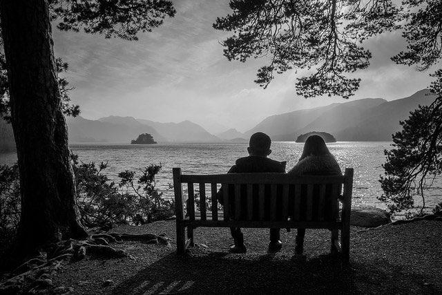 Bench Romance - CC Street Photography