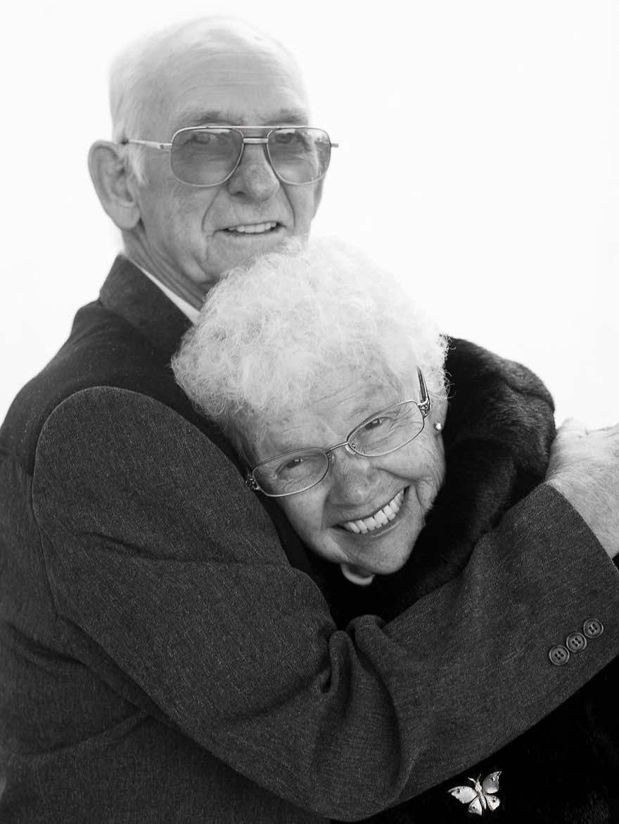 Elderly Robert and Patricia