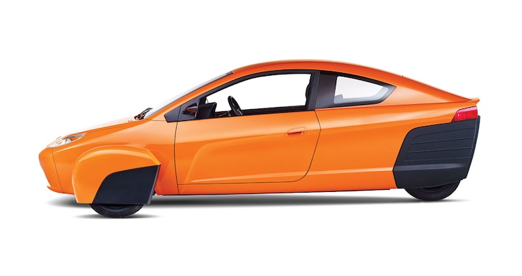 Elio side view released Elio Motors