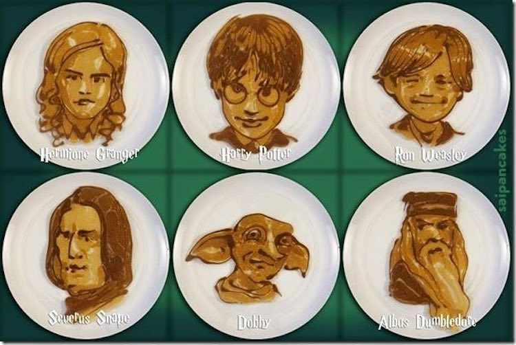 Harry Potter Pancakes - Saipancakes Facebook