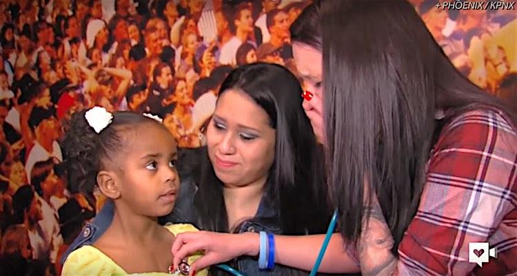 Heart transplant reunion Screenshot Donate Life Arizona