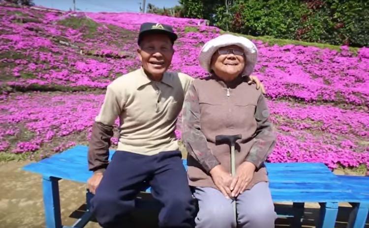 Japanese Couple screenshot Asahi Shimbun