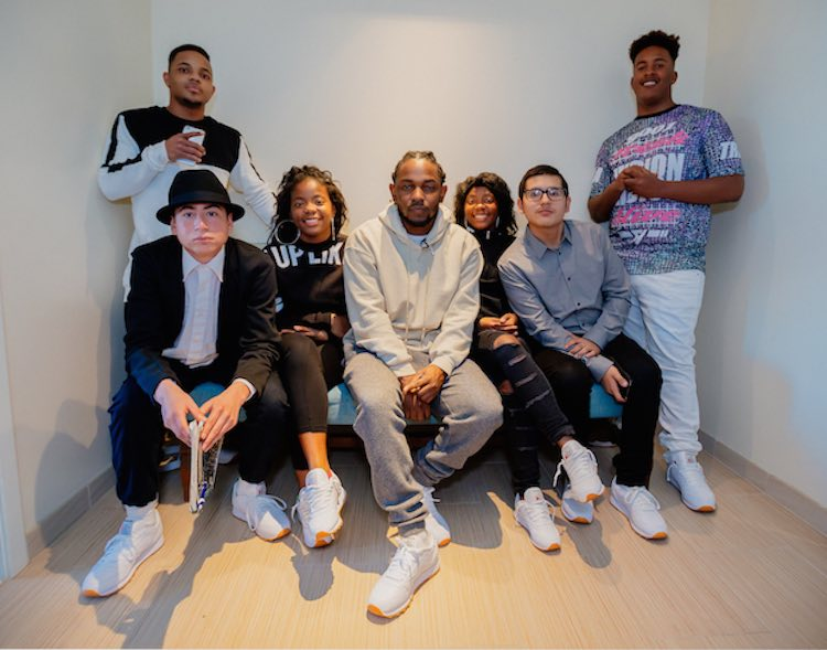 Kendrick Lamar and Compton Kids Featured - Released