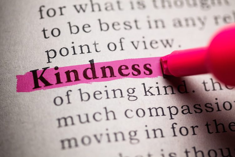 definition of the word Kindness.