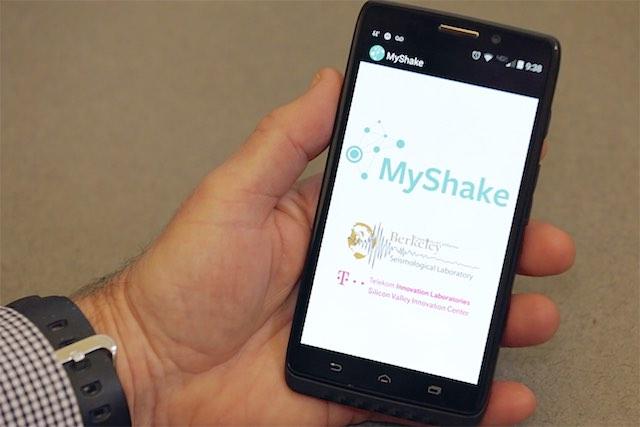 MyShake App-Berkely News