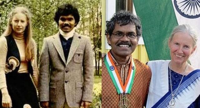 PK Mahanandia and Charlotte Von Schedvin FB Satyanarayan Patri