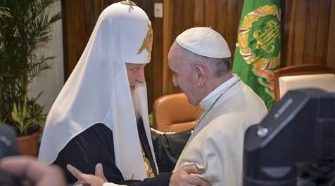Pope and Russian Orthodox Patriarch - AlJazeera-RepubHub