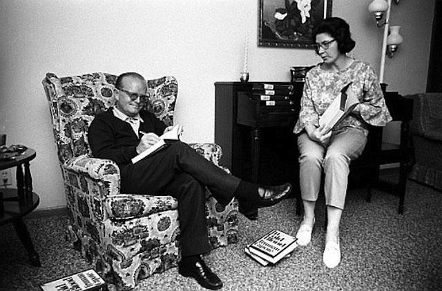 Truman Capote and Harper Lee - Peggy O' Connor CC