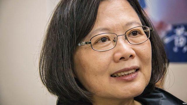 Tsai Ing-wen Public Domain VOA Chinese