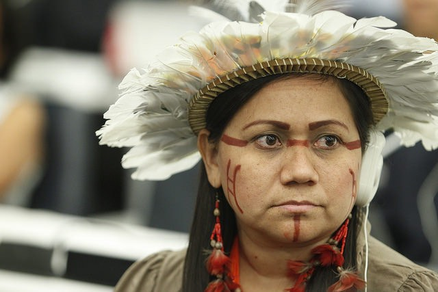 indigenous woman -UN Photo CC