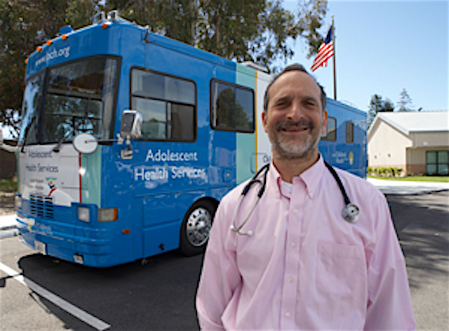 Doctor Brings Caring on Campus With Mobile Medical Van for