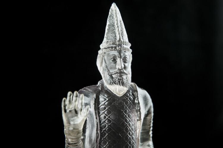3D Printed Sculpture Cropped - Morehshin Allahyari Website