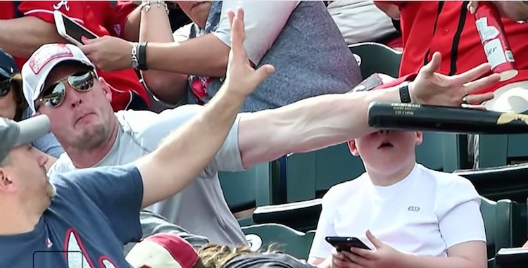 Dad Saves Son From Bat - Youtube