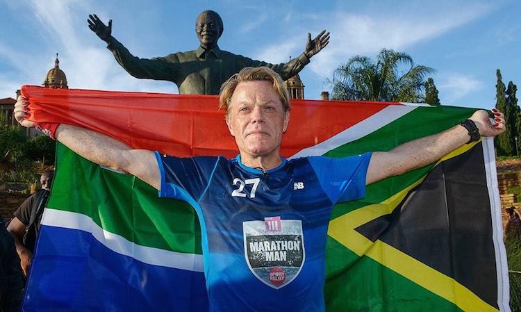 Eddie Izzard Completed Marathon - Facebook