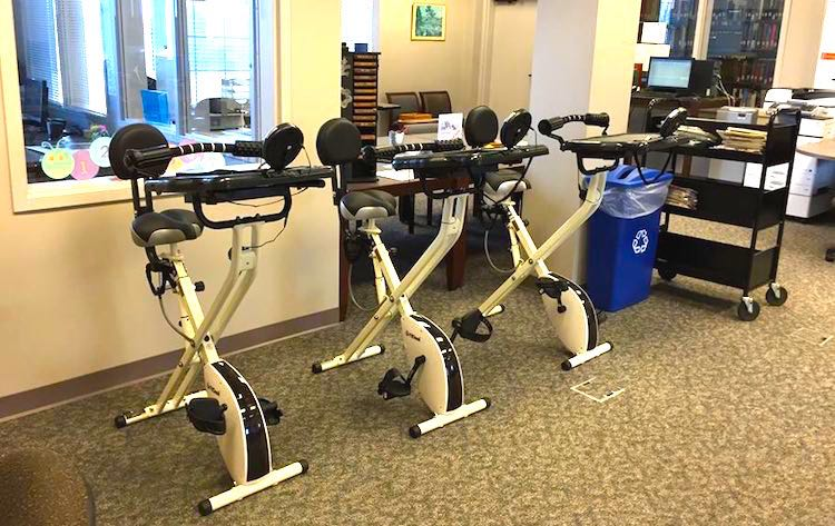Exercise Bikes Edited - Troy University Libraries Facebook