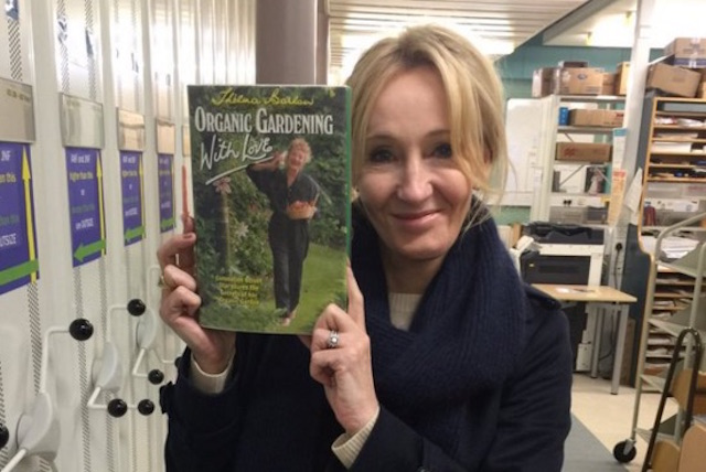 JK Rowling Book - Orkney Library Twitter
