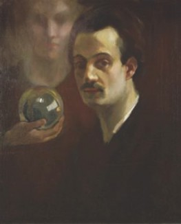 Self portrait, painted c. 1911