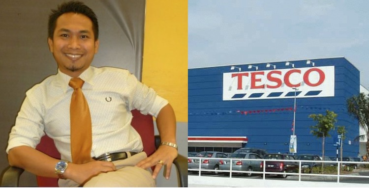 Malaysian Tesco Manager 2 LinkedIn Radzuan Ma-asan CC Klangboy
