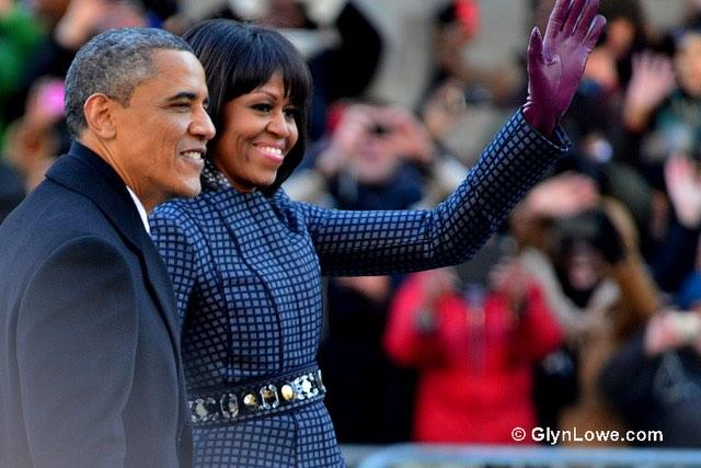 Obamas - CC Glyn Lowe Photoworks