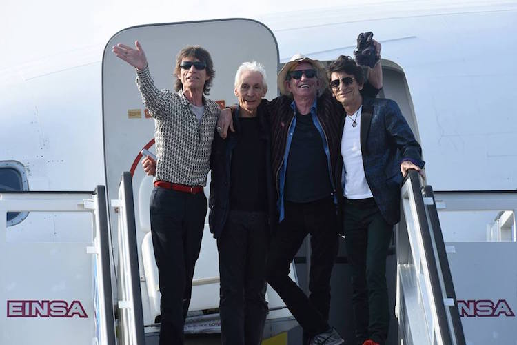 Rolling Stones - Facebook (Photo by Dave Hogan)
