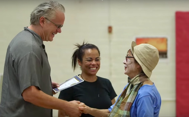 Tim Robbins Prison Drama Class screenshot California Arts Council