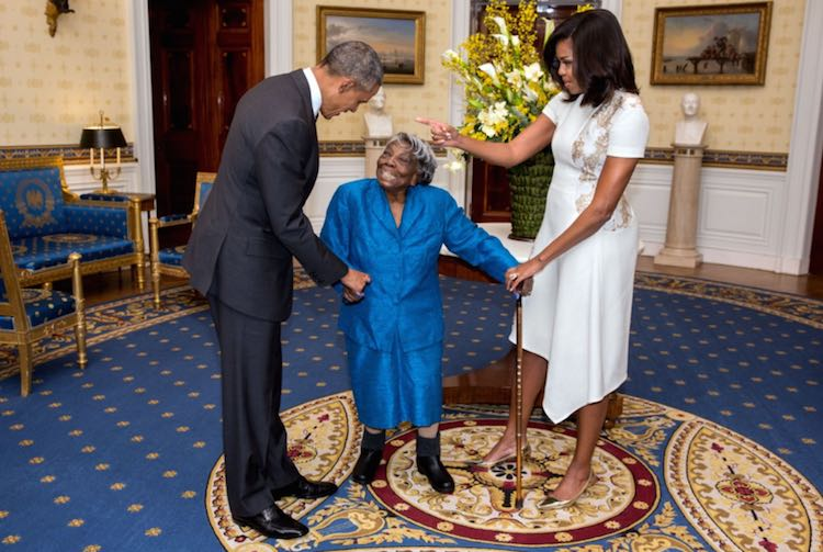 Virginia Mclaurin - White House