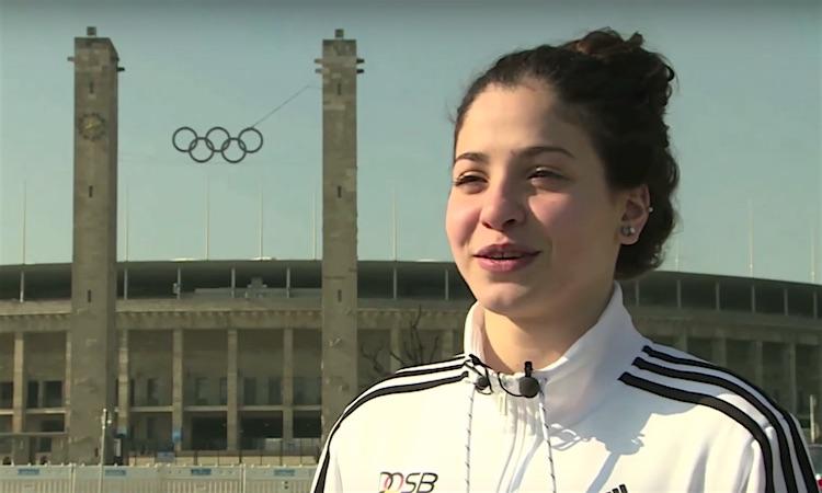 Yusra Mardini Refugee Olympian screenshot CCTV