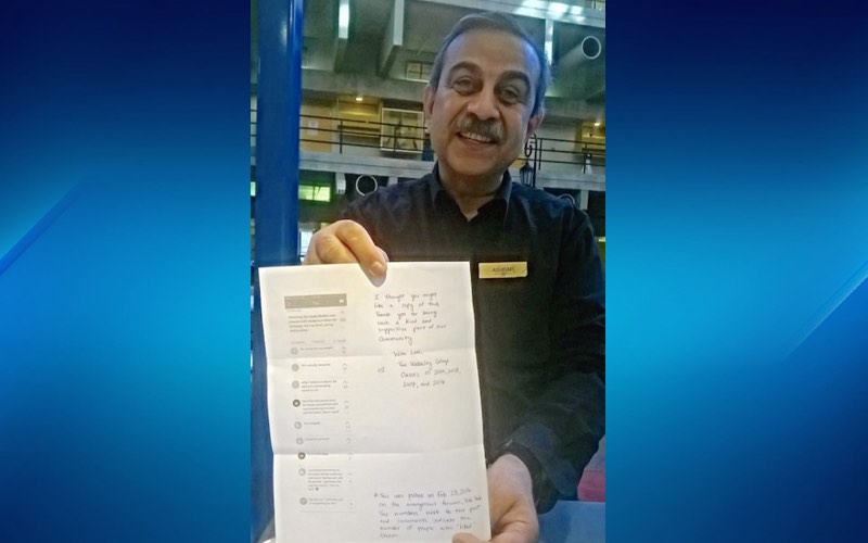 cafe worker gets note -submitted