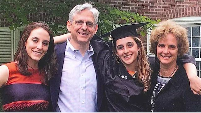 judge Merrick Garland family photo-White House video