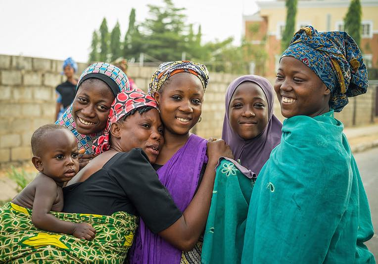 nigeria women and baby happy-CC-Mark Fischer