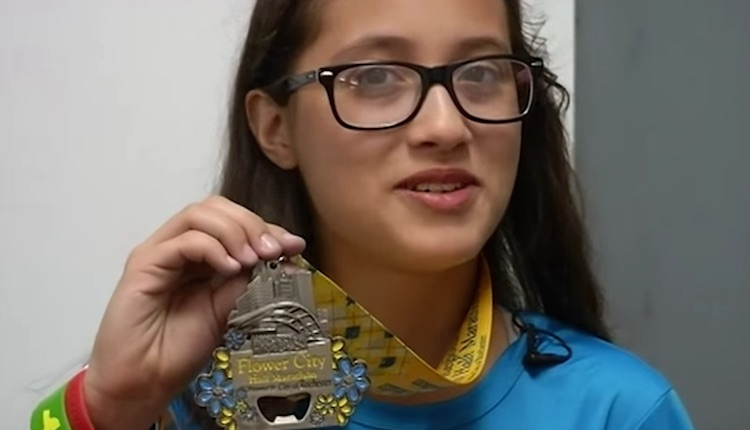 12-Year-Old with Medal - Youtube