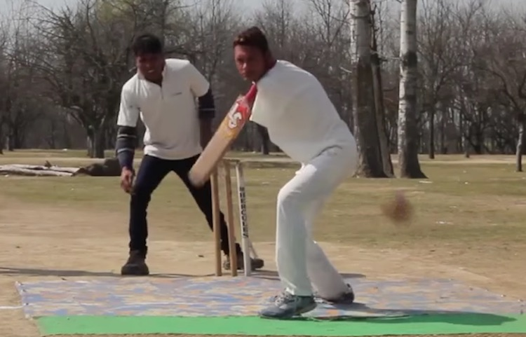 Amir Lone Playing Cricket - Youtube