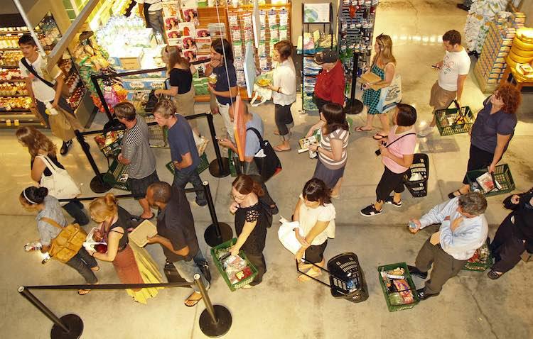 Checkout Line CC David Shankbone