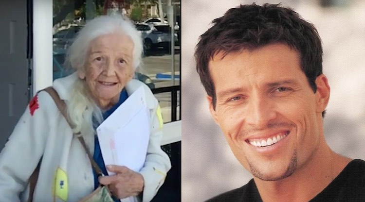 Evelyn Heller and Tony Robbins screenshot Desert Sun and drcliffordchoi CC