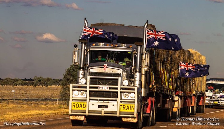 Hay Bale Convoy Truck - Thomas Hinterdorfer Facebook