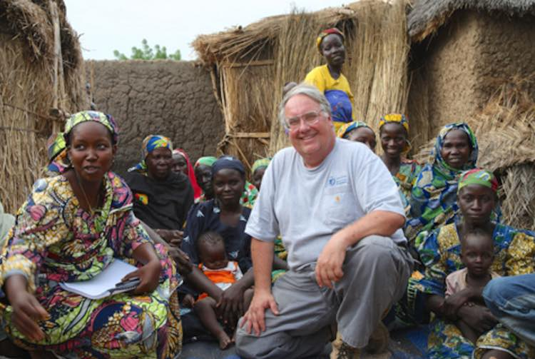 Howard Buffett released Howard Buffett Foundation