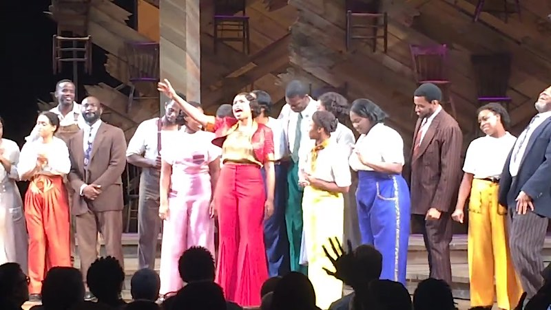 Jennifer Hudson-cast of Color Purple