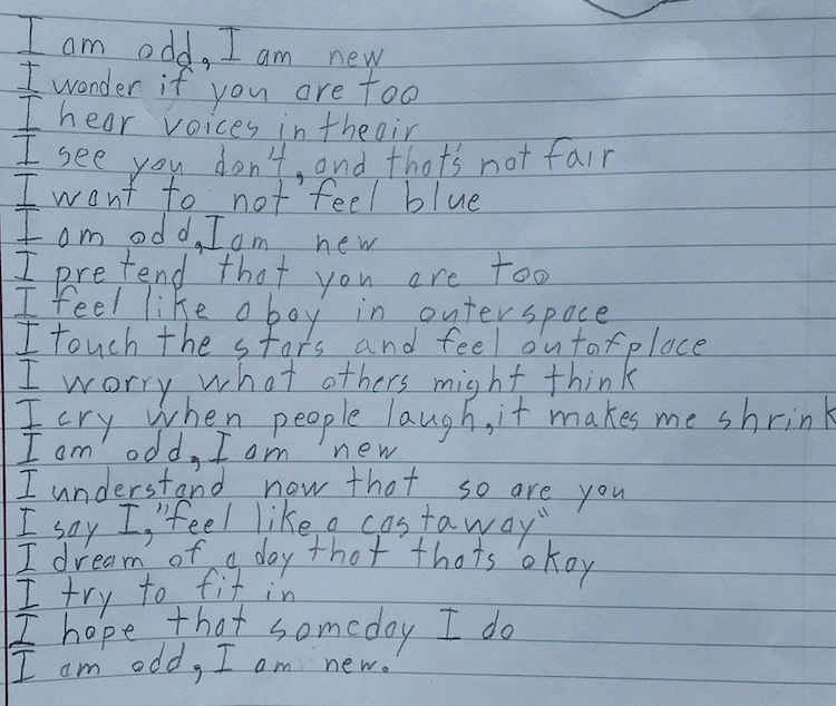 Kid's Poem - Facebook