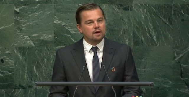 Leonardo Dicaprio - UN Video