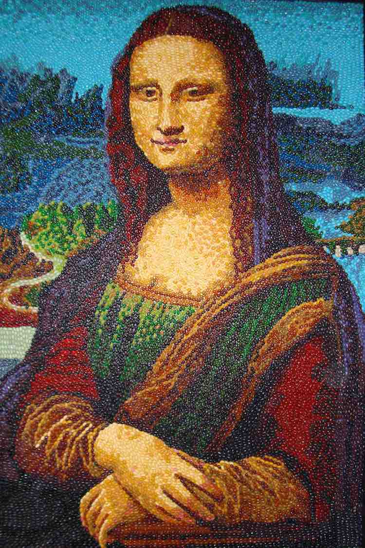 Mona Lisa Jelly Beans - Kristen Cumings