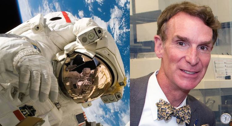 NASA and Bill Nye Public Domain NASA