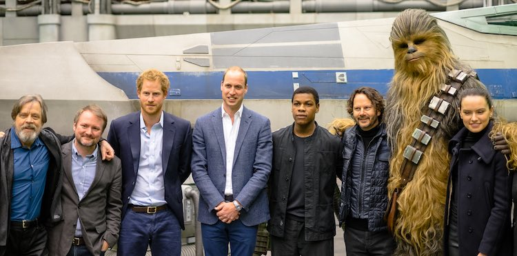 Prince William and Harry Star Wars Instagram Kennsington Palace