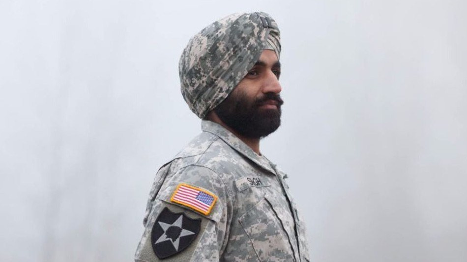 Sikh soldier-released