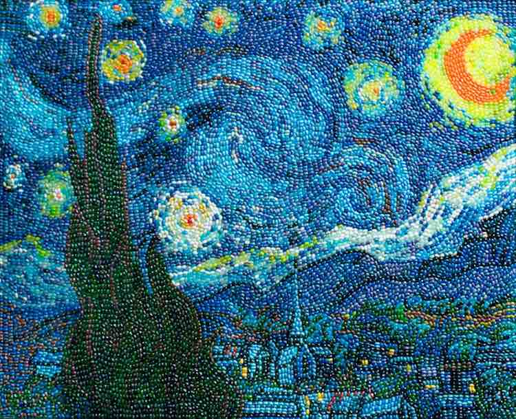 Starry Night Jelly Beans - Kristen Cumings