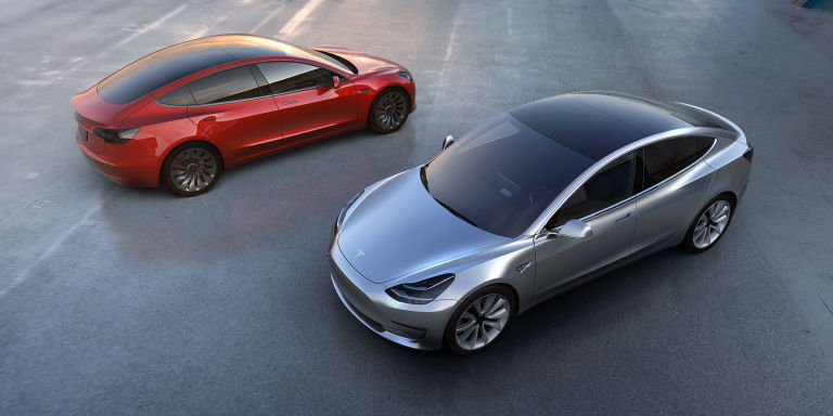 Tesla Model 3 released Tesla Motors